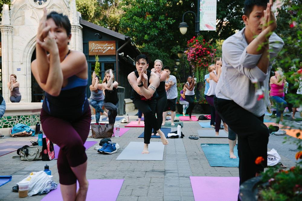 yoga group san jose