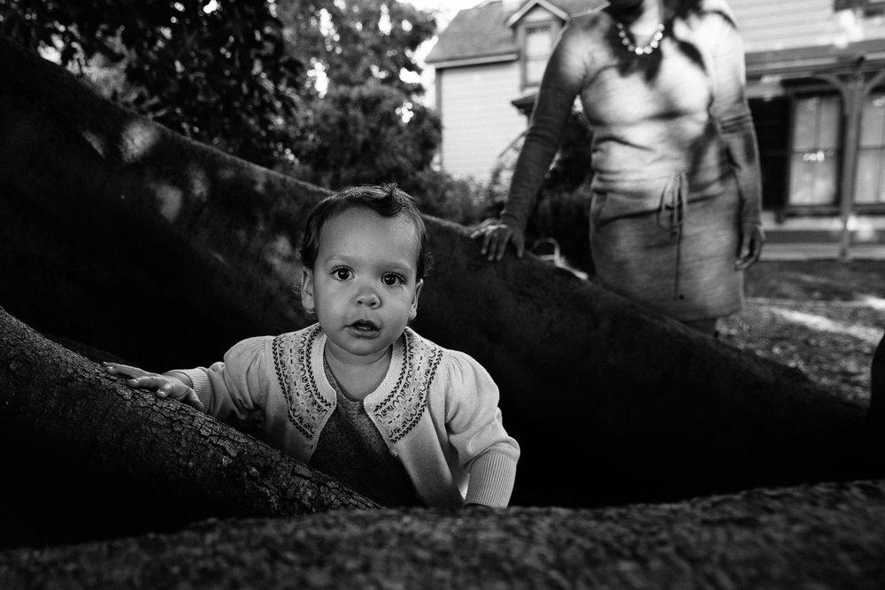 moody child photography