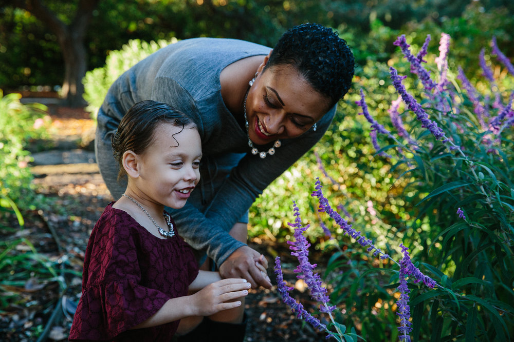 mother and daughter garden