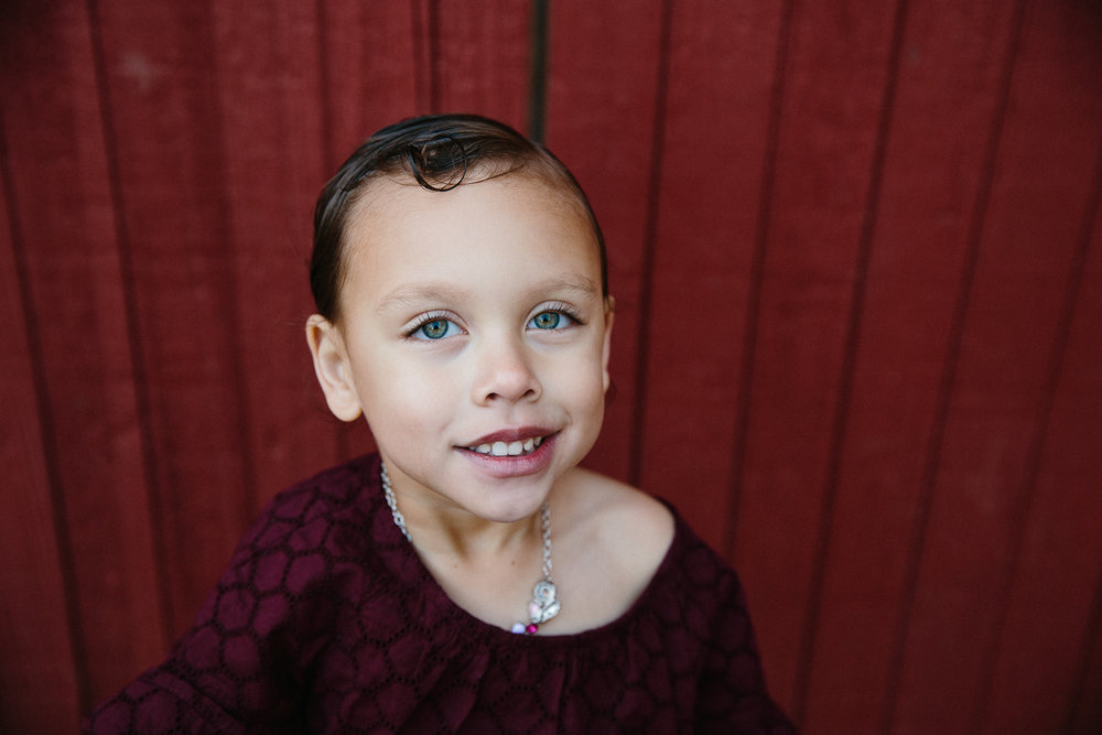 gorgeous biracial child