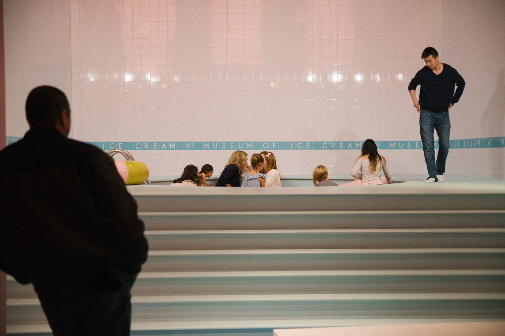 museum of ice cream pool