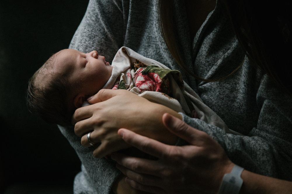 san mateo newborn hospital photography