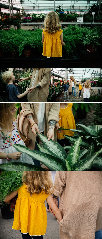 Family Session Plant Nursery Dallas Texas