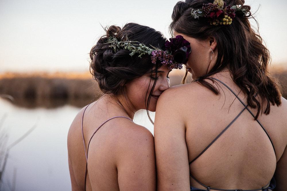 east bay lesbian wedding