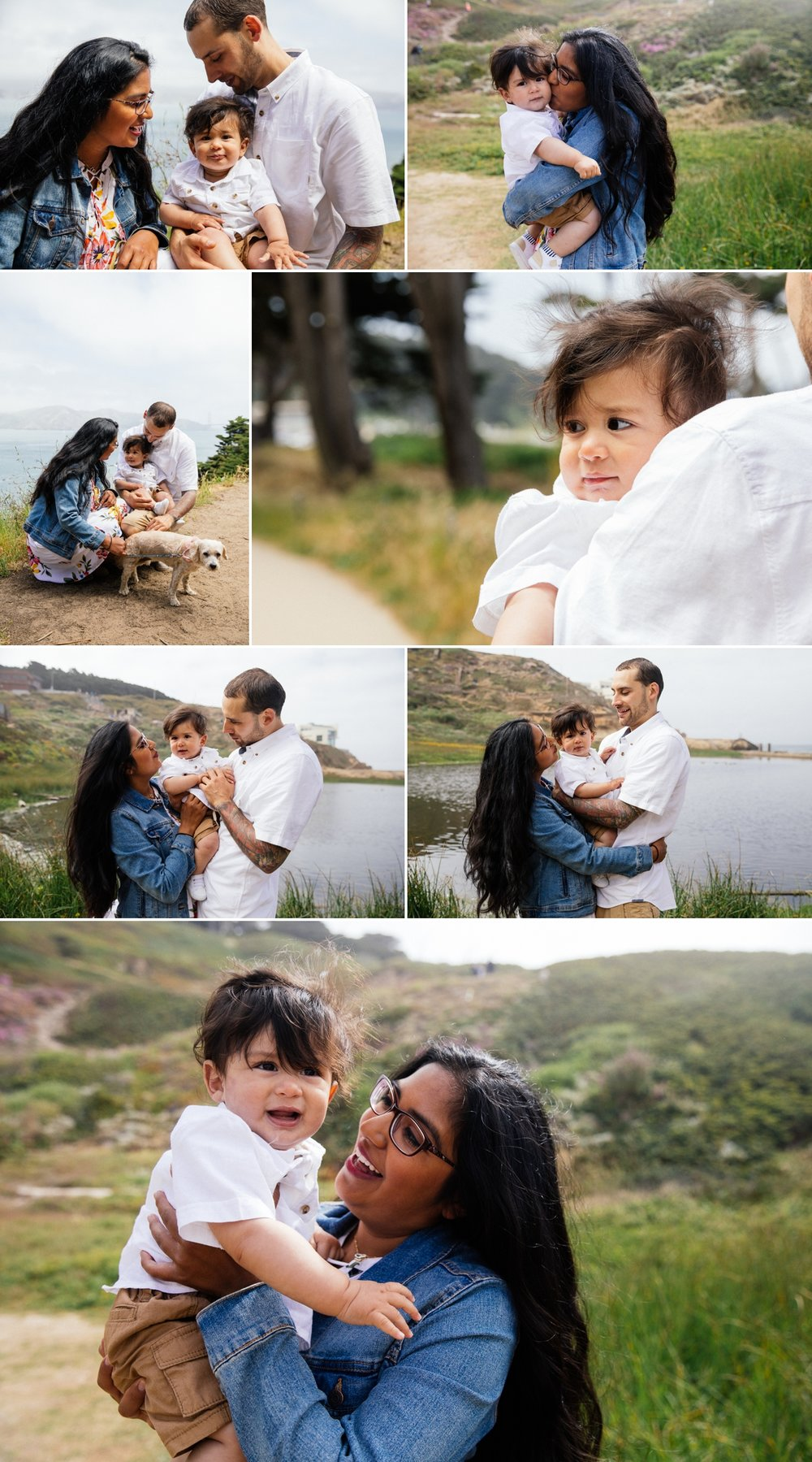 SF Bay Area Family Session Land's End