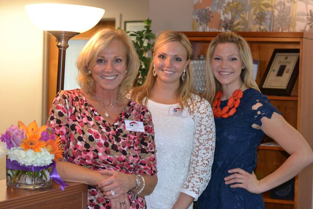 Ann Groomes, RN BSN  and her daughters Katie Byrum and Leslie Byrum