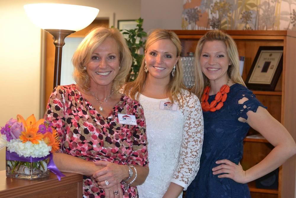 Ann Groomes, RN BSN and her daughters Katie Byrum and Leslie Byrum