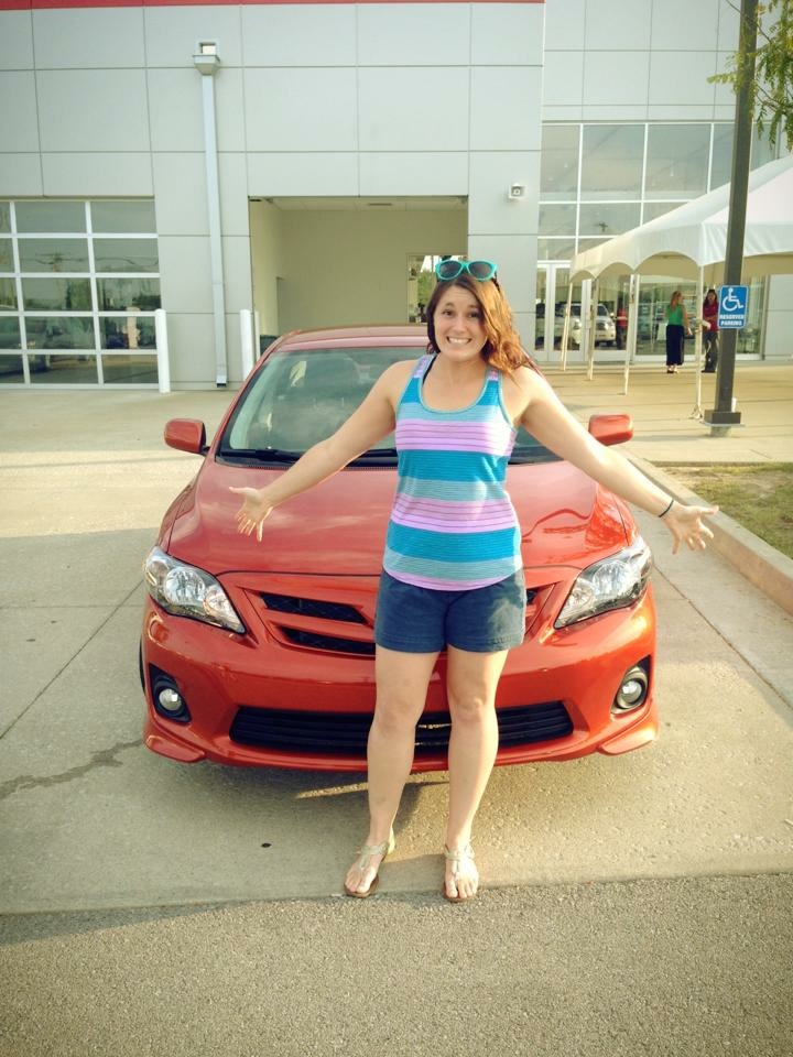 The day I bought my car!!! :)