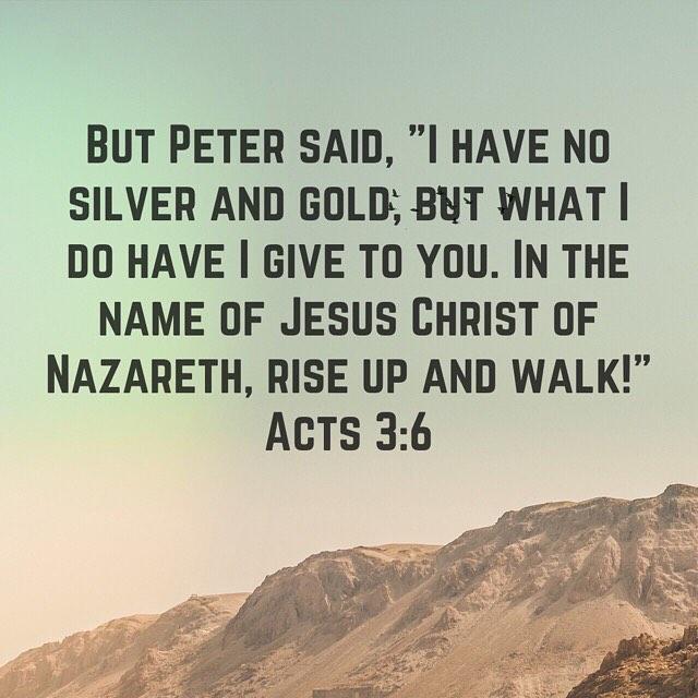 Life in the spirit brings healing. #peace #holyspirit