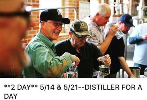 Do you want to MAKE and DISTILL your own whiskey mash?! Join us May 14th and 21st for our hands-on whiskey making classes! 4 spots left!! Come run the mash tun and your own still, blend, proof, and bottle! Enjoy some local craft coffee, and lunch on us, and take home what you distill! #downtown2ndandbrowne #whiskeyworkshop #tinbender #spokane