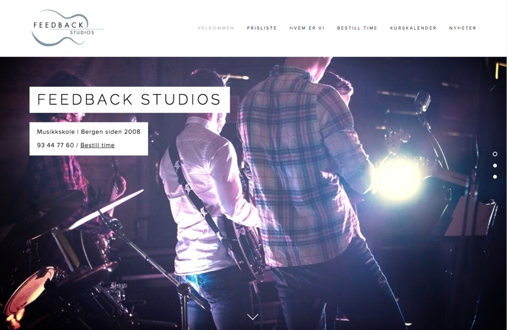 Feedback Studios logo revamp and new Squarespace-driven website.