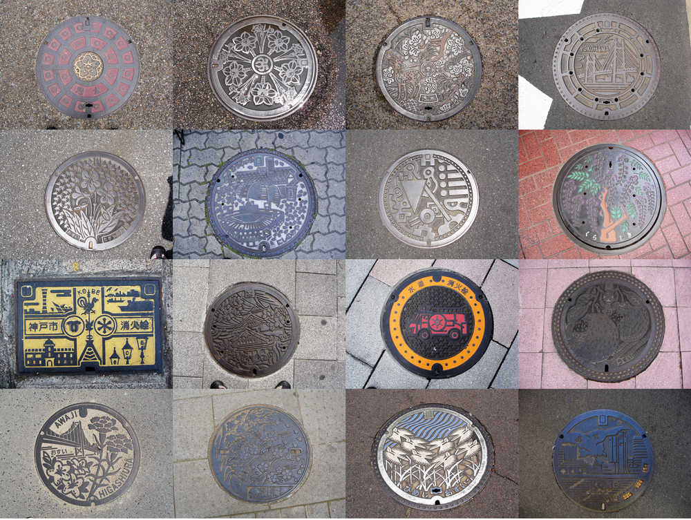 Japanese Manhole Covers - Photo by Seth Amman
