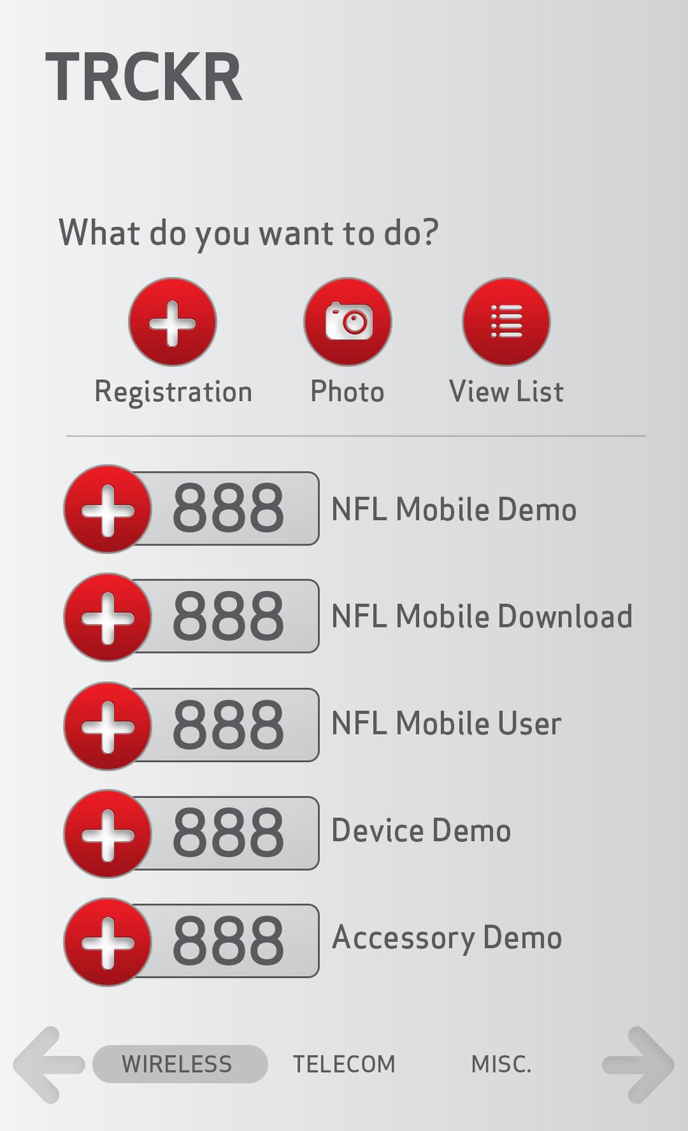 Tracker Applications