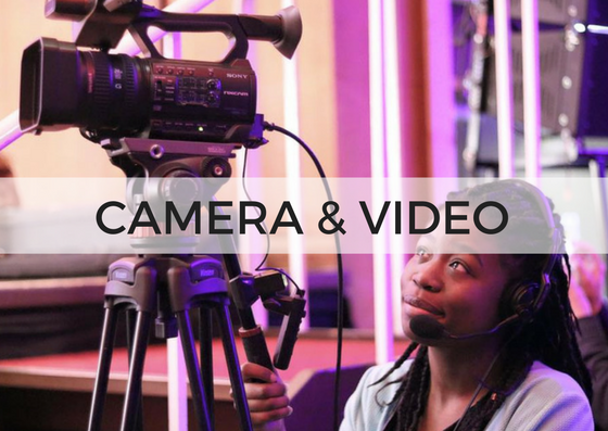 CAMERAS & VIDEO - Help capture the experience. We record our 11.30am service and upload it to our mobile phone App and Youtube Channel, providing a constant flow of resource to our church and beyond.No experience is needed, because training is provided.Example team roles: Camera men and women / Video Switching / Video Editing / Photography↓ Complete the form below to get involved.