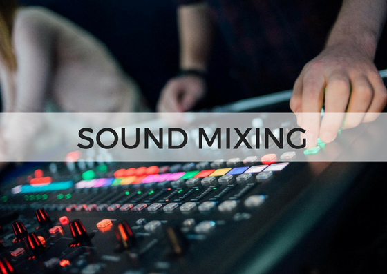 SOUND TEAM - As well as preparing microphones, the Sound Team blends all the instruments being played to make a great sound.At least a basic knowledge is desirable↓ Complete the form below to get involved.