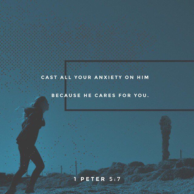 1 Peter 5:7 #HeCares Image Credit @youversion