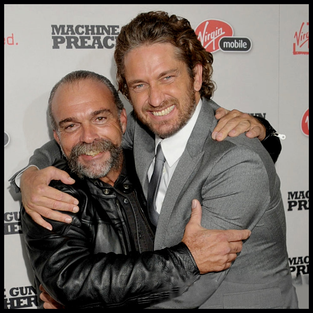 Sam Childers' life was the subject of Hollywood movie The Machine Gun Preacher