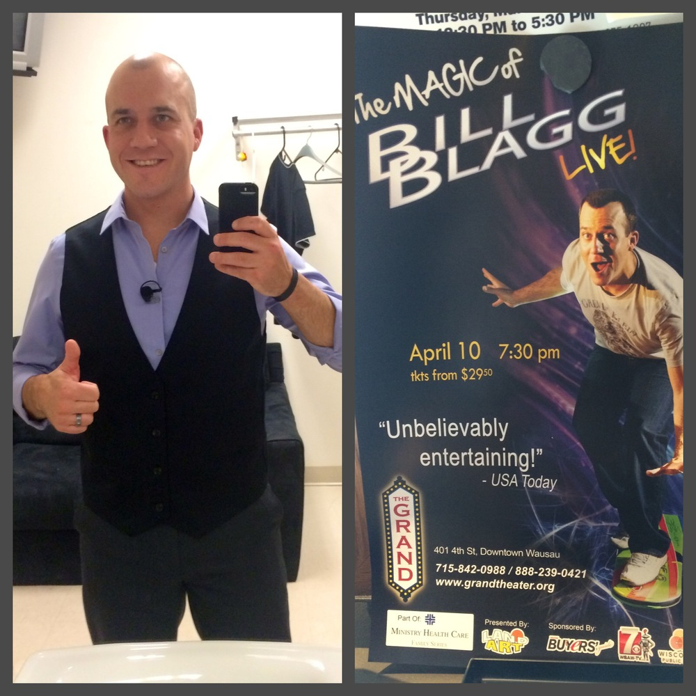 One of my guy clients is the awesome magician, Bill Blagg! You may have already seen one of his shows or heard about him from others, but if you haven't seen him live yet it's a must! We updated his style for the stage and he's looking great for his audience. Check out his website and find a show near you! www.billblagg.com Stay Stylish Chicago, Katie