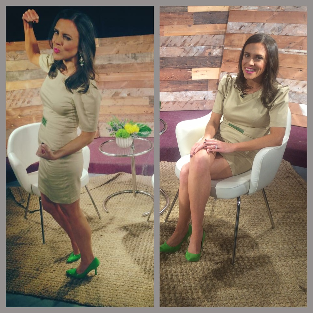 Every week I style Whitney Reynolds host of The Whitney Reynolds Show! As the wardrobe stylist from KS Style Consulting for the show I choose pieces from local Chicago designers and boutiques that work great with Whitney's personal style. This week we borrowed from one of our favorite local Chicago designers, Borris Powell. Whitney wore a khaki dress with green accent that looked super cute with the green shoes!  Check out Borris Powell online: www.borrispowell.com Check out The Whitney Reynolds Show every Monday Night on WYCC PBS Chicago and online here: www.whitneyreynolds.com   Stay Stylish Chicago, Katie