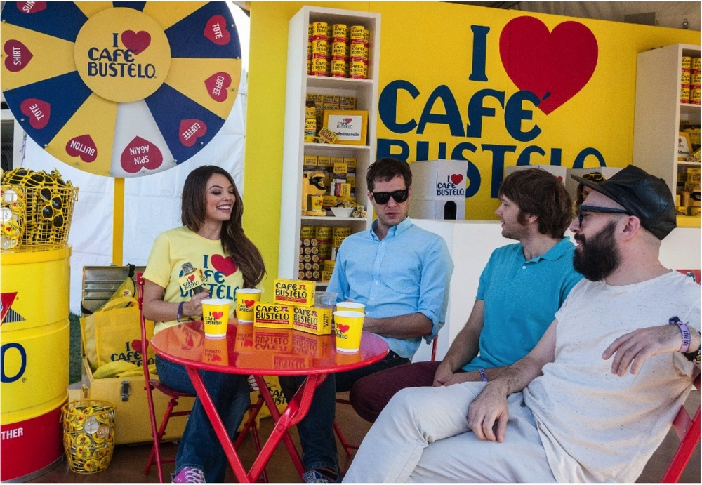 While fashion is my first thought when attending any big music festival, you have to make sure you have the fuel to rock through all of the shows! If you are attending   Pitchfork   this weekend you have got to stop by   Cafe Bustelo   and grab some of their yummy caffeine, sooooo good!
