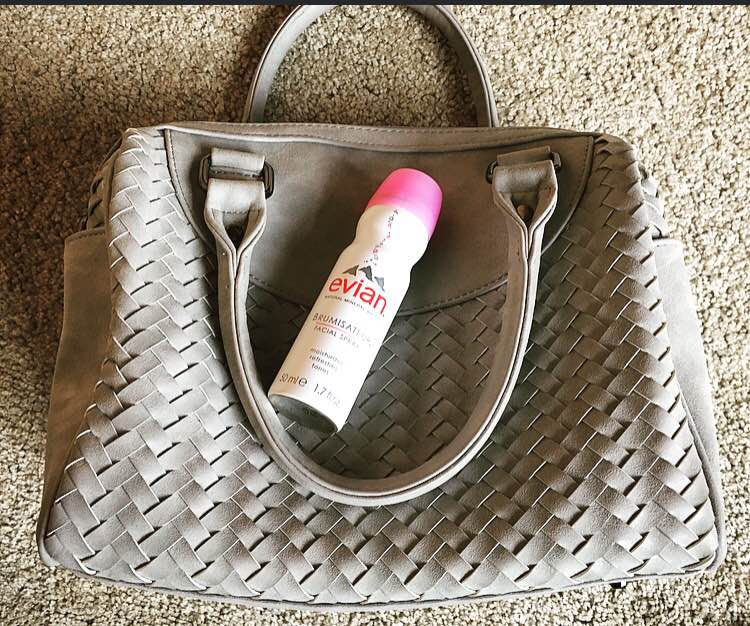 My MUST HAVE after workout product to feel refreshed and make my skin hydrated is my Evian Natural Mineral Water Facial Spray! It gives my a calm, soothing feel after burn a bunch of calories after a long run.