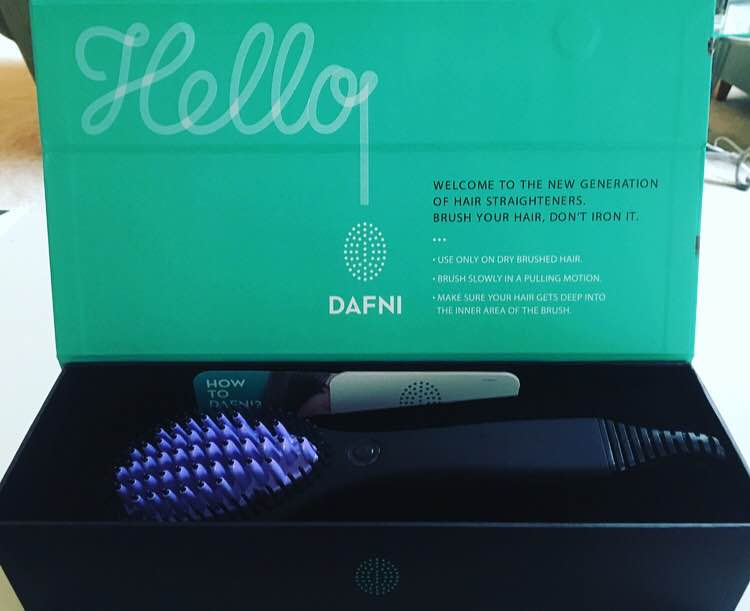 DAFNI   started out in a family basement. The inventor made a hot brush (aka a Frankenstein brush) for his daughter, a young ambitious woman, who didn't have time to straighten but had to save herself from her terrible new haircut. The amazing part was that  it worked ; this awkward looking bulky brush actually straightened hair. Though the result was far from perfect, the advantage was clear: DAFNI could straight the hair simply by brushing it!  It took the inventor, a senior electric engineer, and his daughter, an electric engineer and physicist herself,  two additional years of R&D to come up with the first and only ceramic straightening brush which they proudly named after the younger sister, DAFNI.  DAFNI is the new generation of hair straightening appliance that suits our fast pace of life.