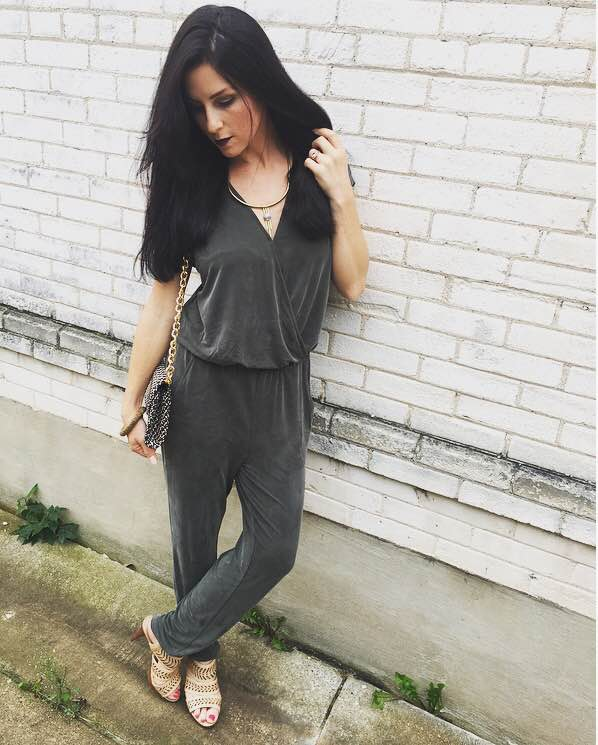 Jumpsuit//   Lou & Grey  for LOFT