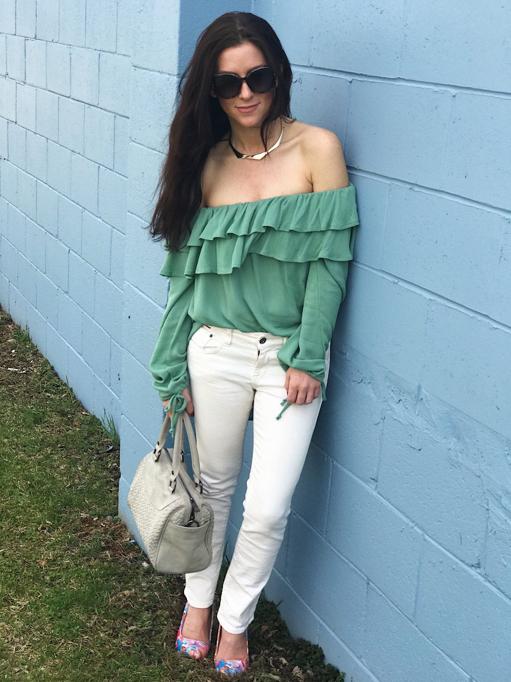 """Sydney Top in Green"""