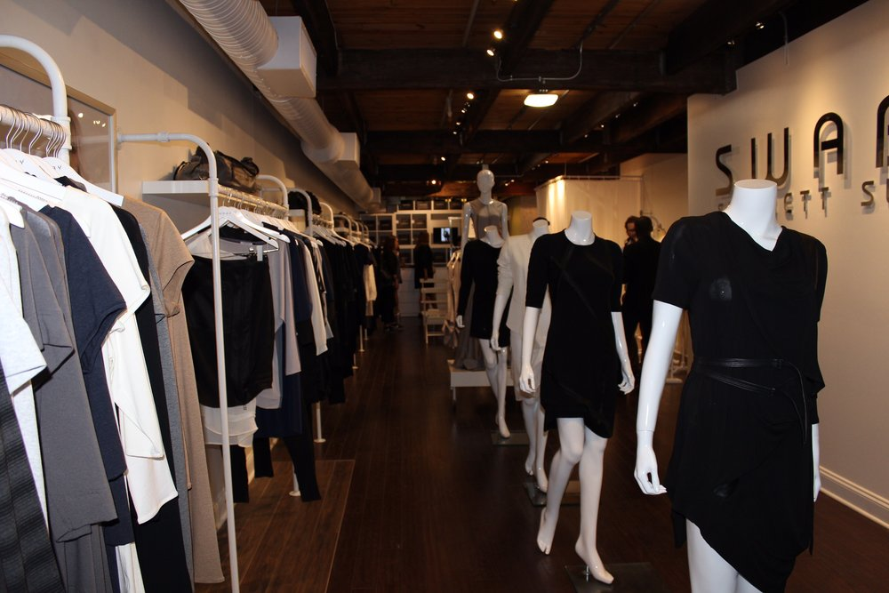 She has a new store opened in River North and it is a gorgeous store with beautiful pieces from the designer! Get in to check it out and start shopping Shernett Swaby.
