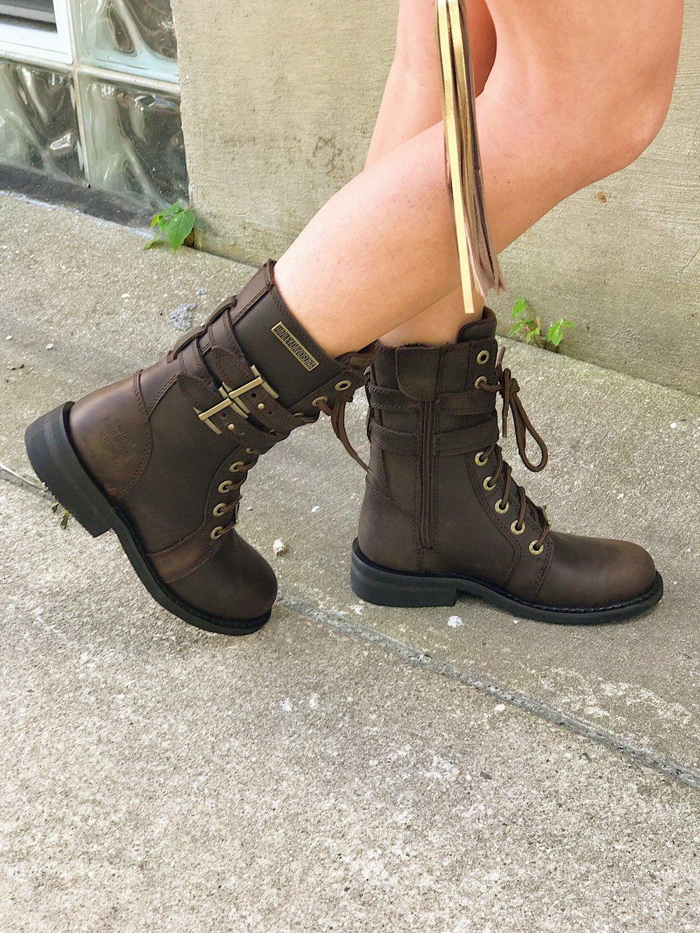 """Bradbrook Riding Boot""    by  Harley Davidson Footwear"