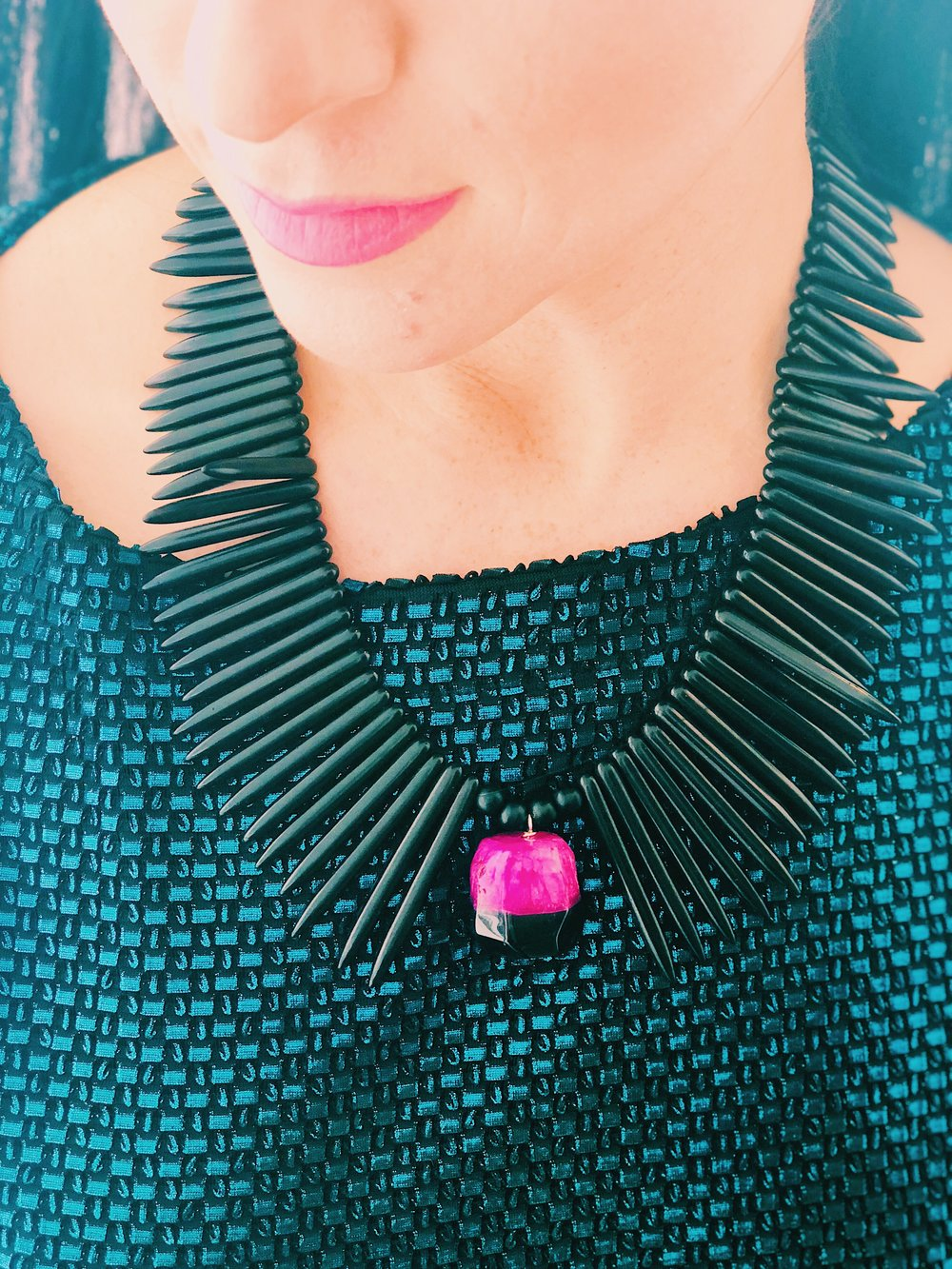 """San Remo Black Necklace"""