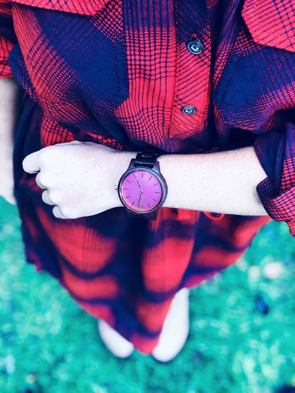 """Frankie Series- Purpleheart & Plum""     Watch"