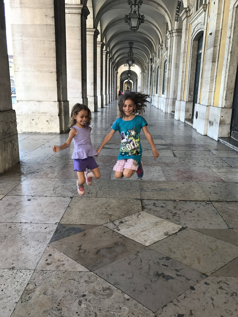 Sisters enjoying life!