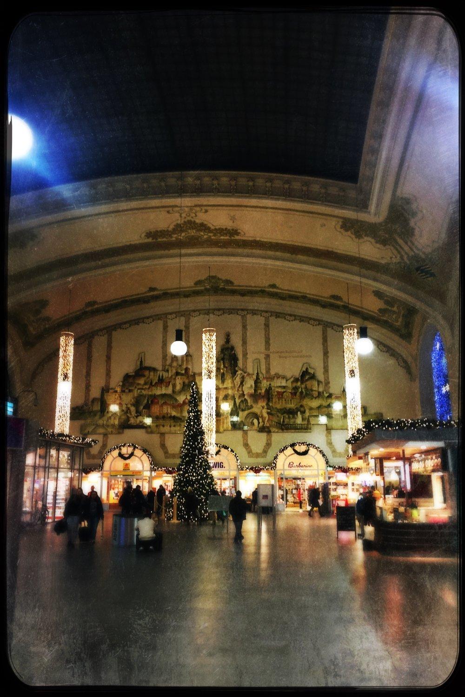 Arriving at Dresden train station via Gare de L'est