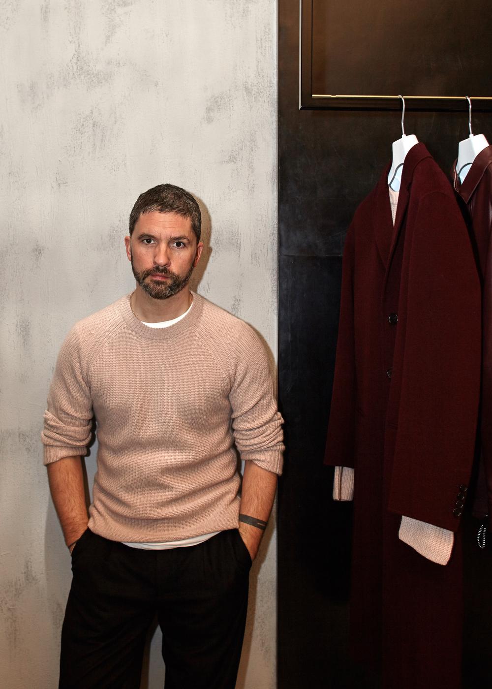 MARK THOMAS - head menswear designer