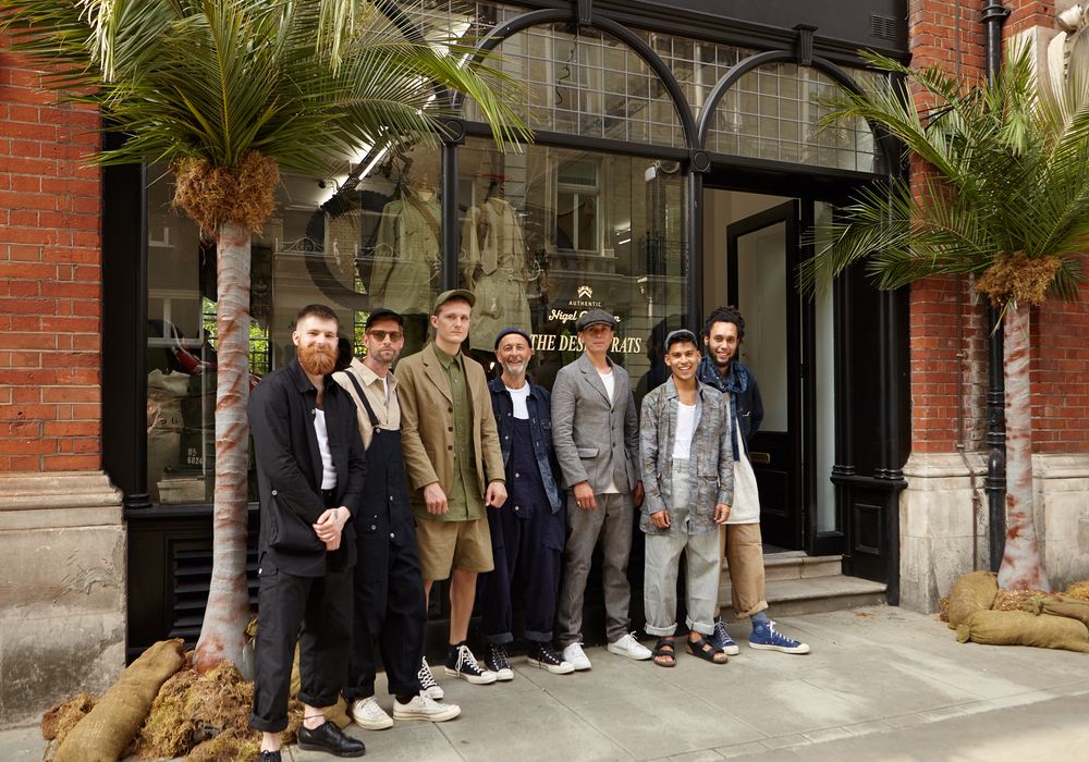 The Nigel Cabourn Boys.