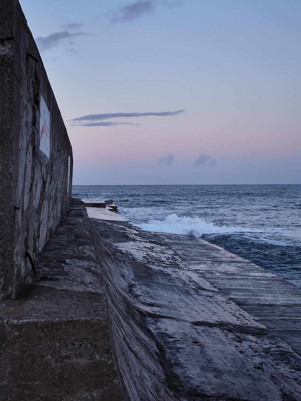 Concrete Pier.