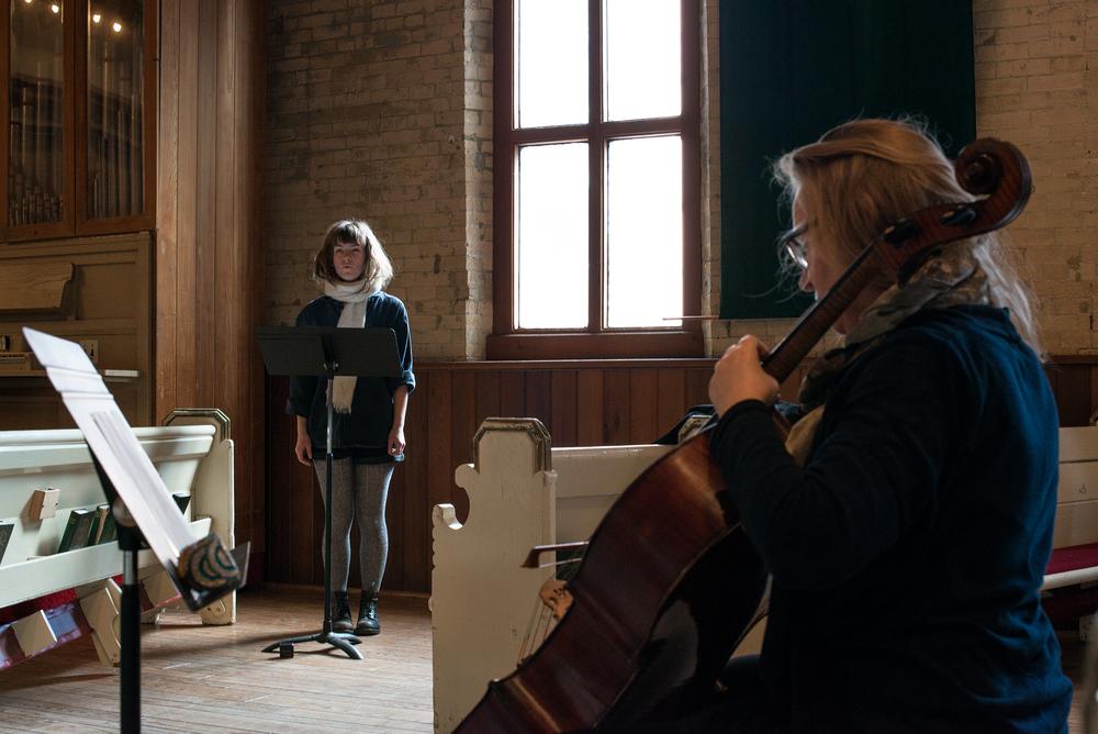 Blow/Draw/Drift  Concert work, The Music Gallery