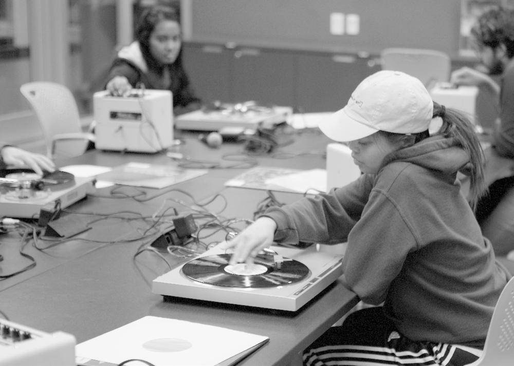 Listening in the library  A youth experimental music project at the Toronto Public Library