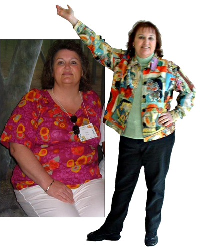 """I lost 40 lbs. Hypnosis provided the help I needed to suppress cravings.""    Cindy Roach"