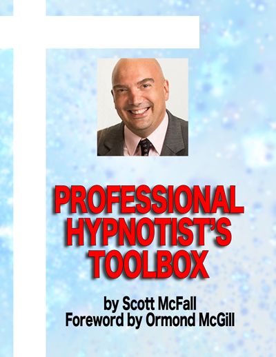 My mentor, Ormond McGill, wrote the  foreword to this book. I believe it's the most complete book about how to start, operate and succeed in the profession of hypnosis. Every student who attends my training receives a copy. Its content is the result of my 25 years experience in the profession of hypnosis.