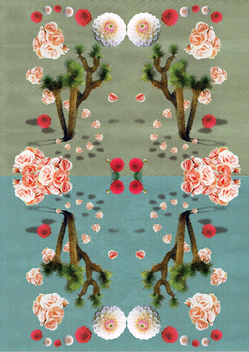 MIGUEL - WAR & LEISURE TOUR - Textile Print Design