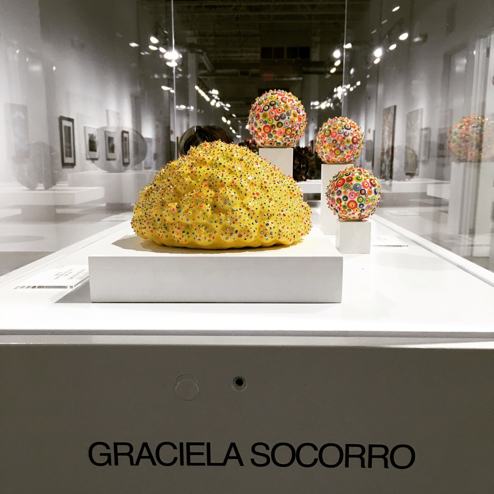 Graciela Socorro's work at the Collective Perceptions.