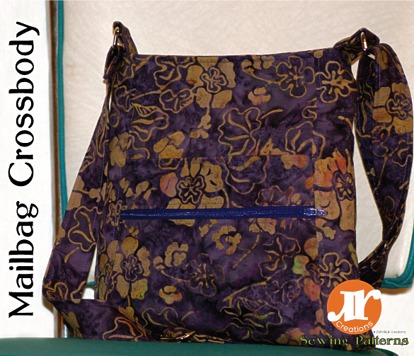 Mailbag Crossbody Pattern Release coming Jan 15th, 2015 — RLR Creations