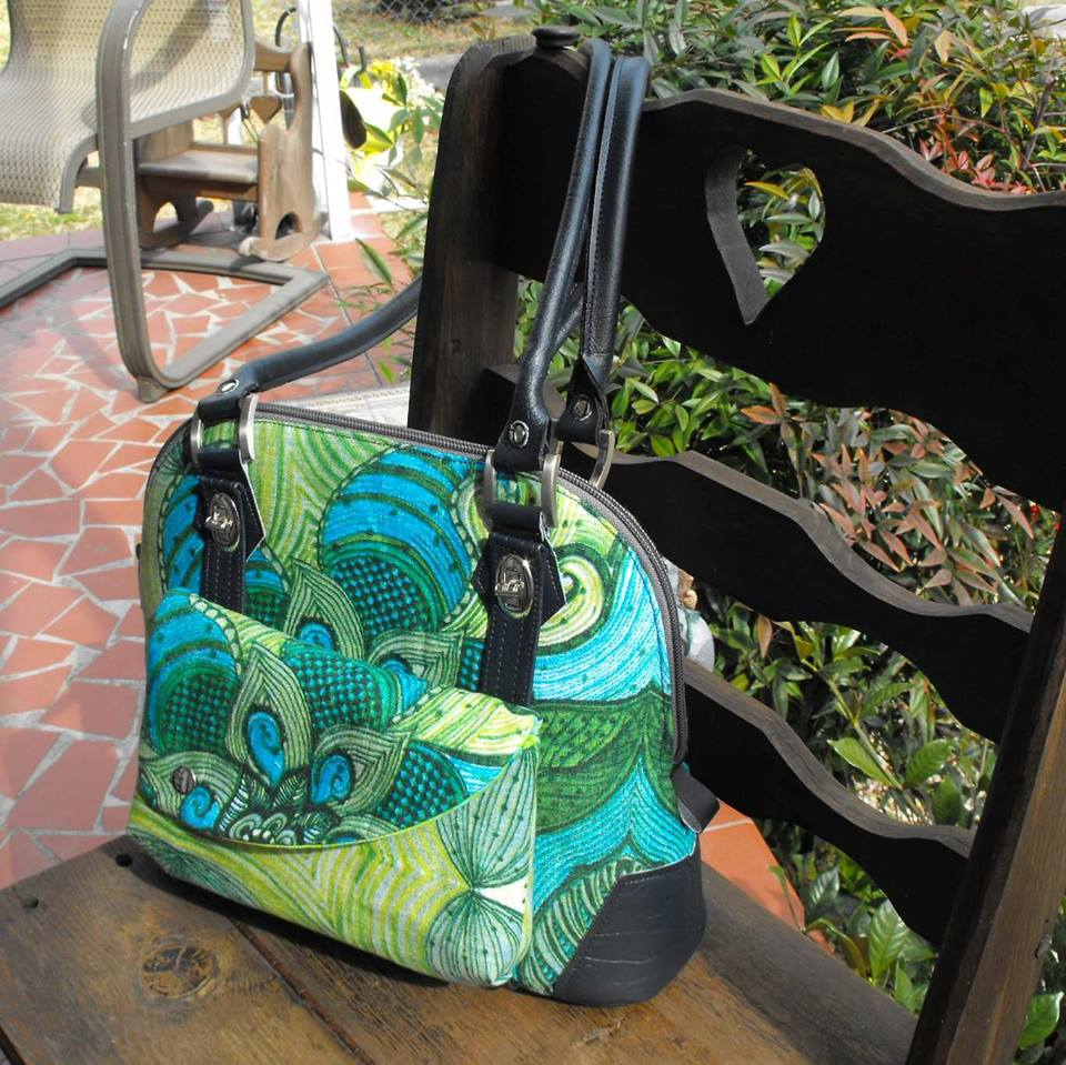 The Koala Handbag with detachable Clutch