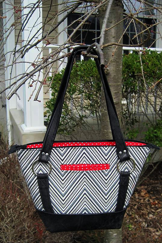 Titania Tote in Leather Accents by Betty Hoyle-Wind
