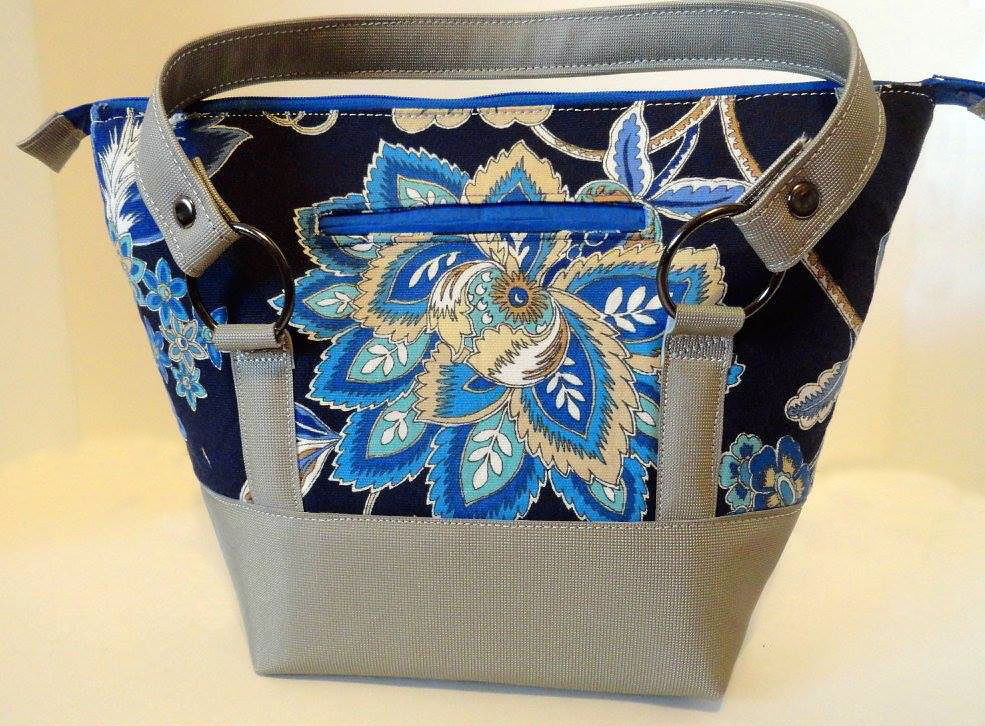 Titania Tote in Canvas  by Debra Taylor