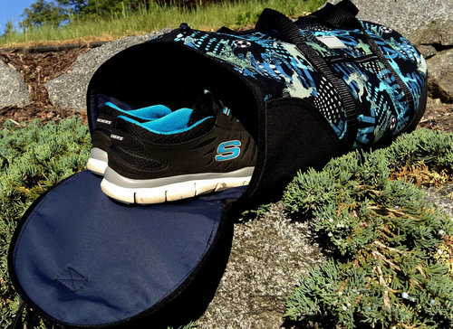 6b6d615e20 The Chase Duffle Sports Bag Travel Bag with a separate Zip Open Shoe Pocket  - PDF Pattern includes 3 sizes