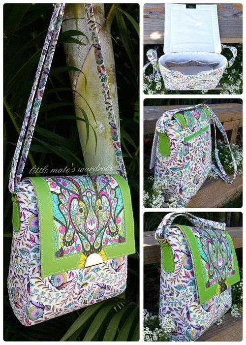 Juno Sling Purse ~ Crossbody Bag PDF Sewing Bag Pattern — RLR Creations