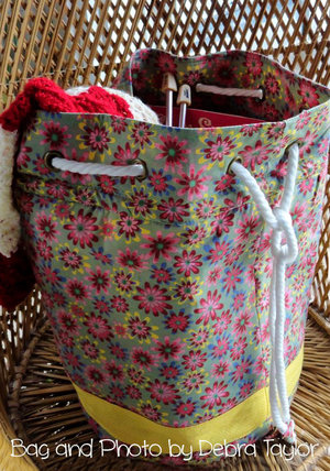 Ditty Bag 2.0 The Everything Bag PDF Sewing Pattern — RLR Creations
